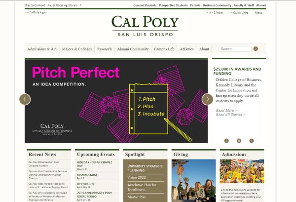 cal poly essay