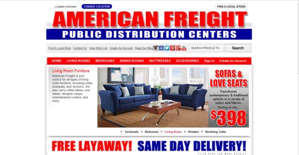 American Freight Furniture and Mattress crunchbase