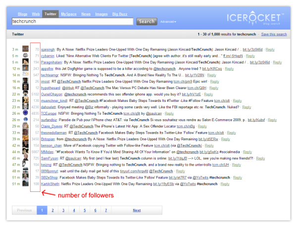 Blog Search Engine