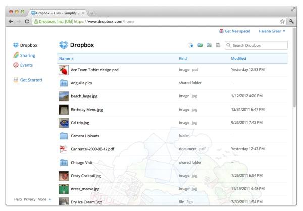 Dropbox Crunchbase