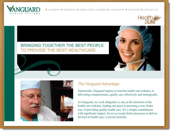 Vanguard Health Systems | crunchbase