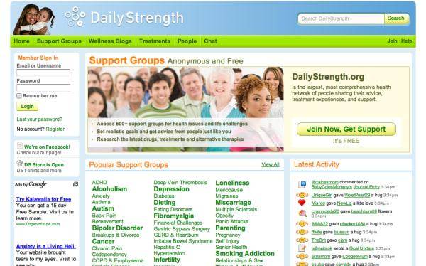 DailyStrength | crunchbase