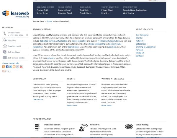 Leaseweb | crunchbase
