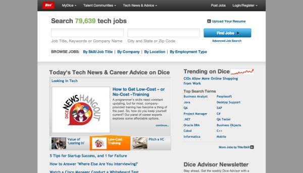 Dice.com | crunchbase