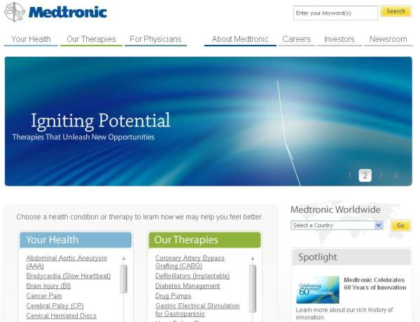 organizational structure medtronic Medtronic inc—soon to be medtronic plc—has announced the executive team  leading the combined organization following the close of its.