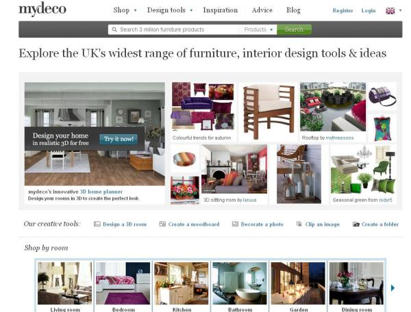 mydeco crunchbase. Black Bedroom Furniture Sets. Home Design Ideas