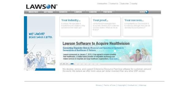Lawson Software   crunchbase