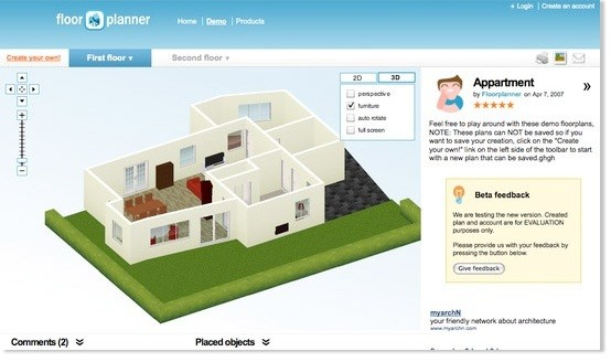 Floorplanner crunchbase for Planner casa 3d