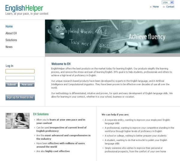 English helper website