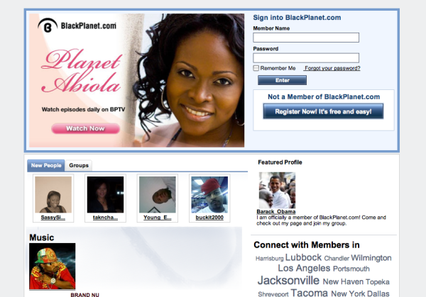 Blackplanet dating website