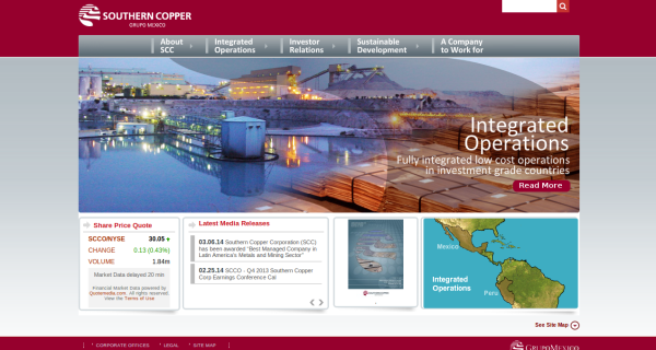 Southern Copper Corporation Crunchbase