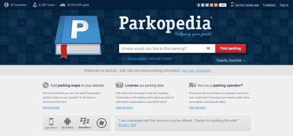 Parkopedia Crunchbase