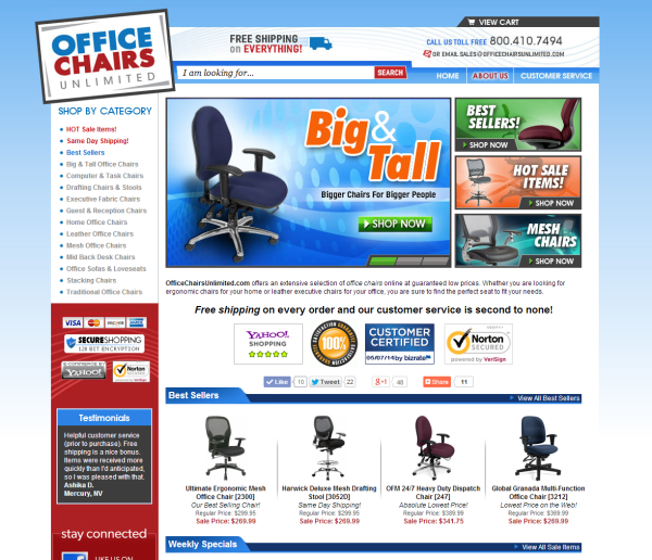 office chairs unlimited | crunchbase