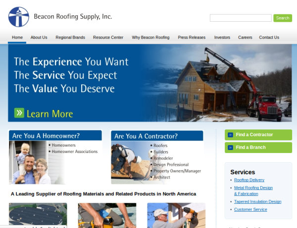 Beacon Roofing Supply Crunchbase