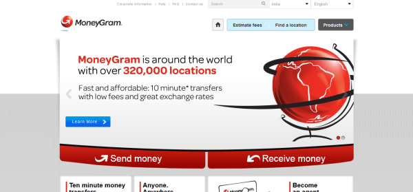 how to send money using moneygram online