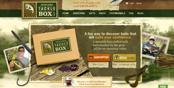 Mystery tackle box crunchbase for Mystery fishing box