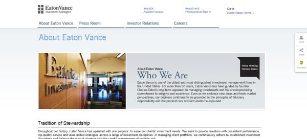 Eaton Vance Management | crunchbase