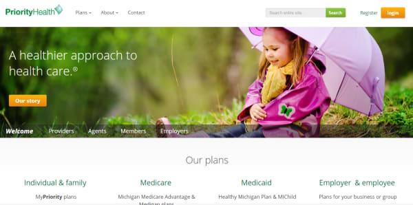 priority health website