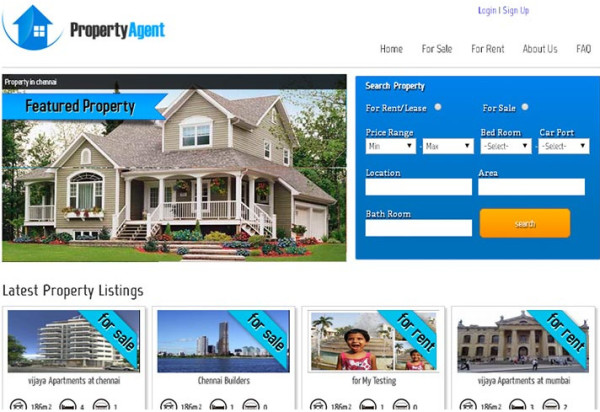 PHP Real Estate Script | Open Source Real Estate Agency Script ...