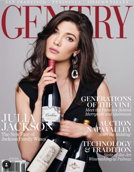 Julia Jackson - Jackson Family Wines Featured on Gentry - Running Lip