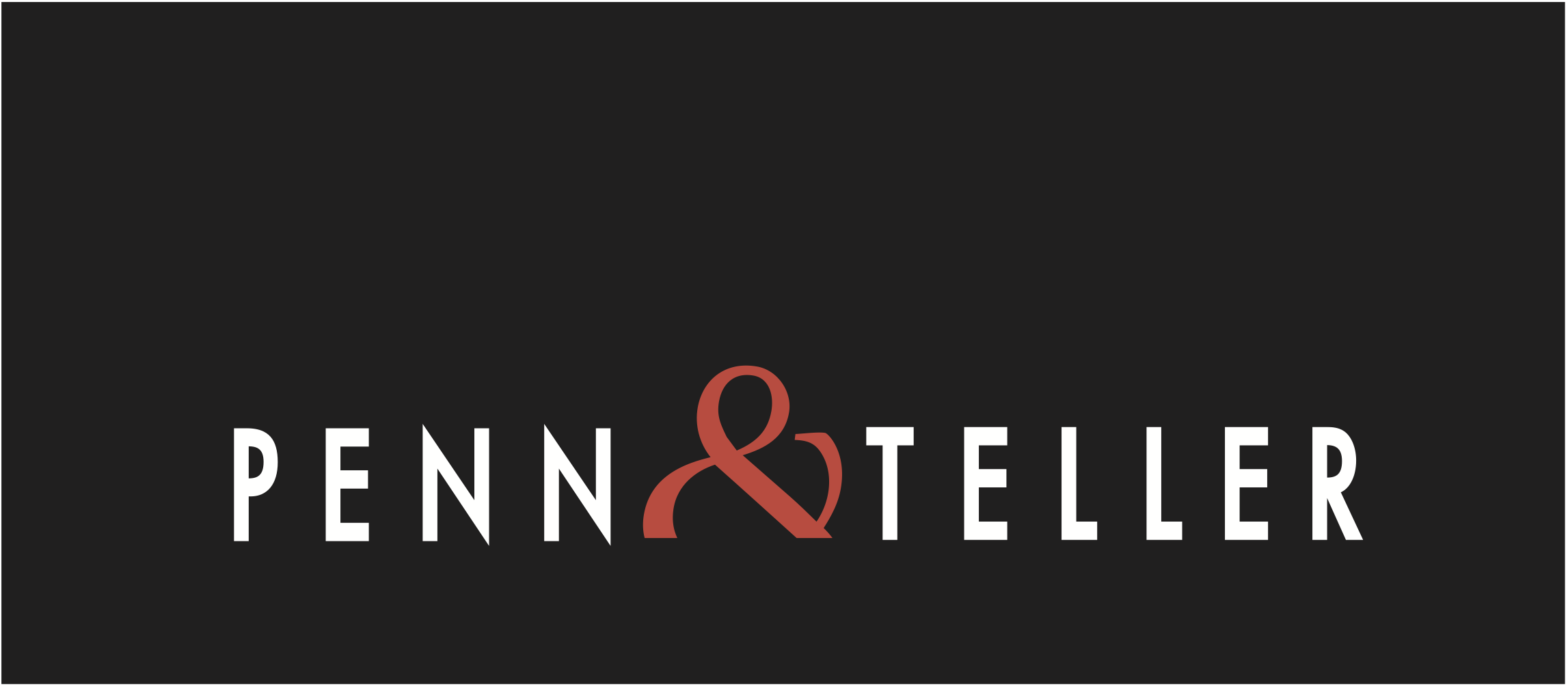 Logo for Penn & Teller