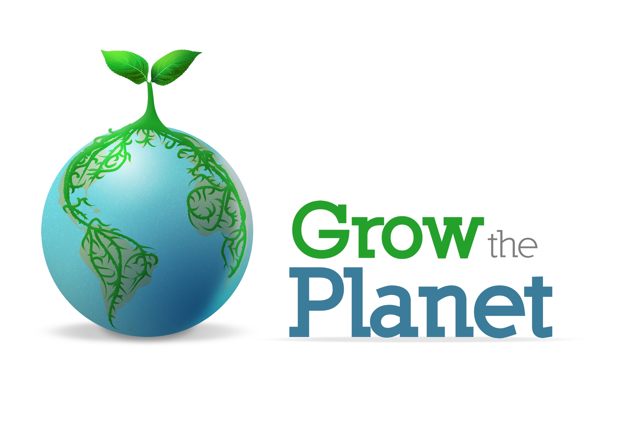 Logo for Grow the Planet