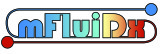 Logo for mFluiDx
