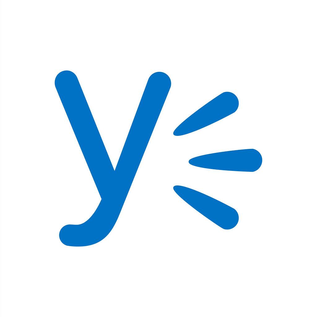 Logo for Yammer
