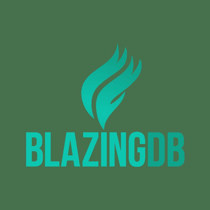 Logo for BlazingDB